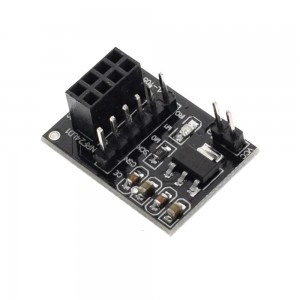 Адапторна платка /основа/ за NRF24L01 2.4GHz модули