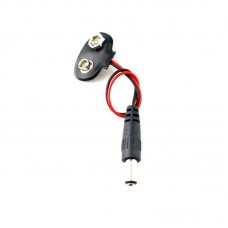 Захранващ кабел за Ардуино от 9V батерия