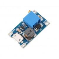 MT3608 (B6287) 2A импулсен повишаващ модул с Микро-USB конектор