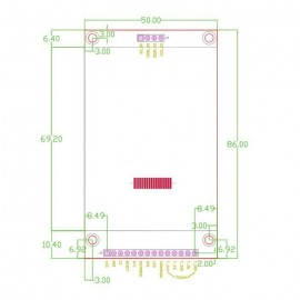 2.8 inch TFT LCD тъч дисплей