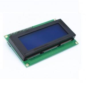 LCD 2004A 20x4 син дисплей с I2C управление (HD44780)