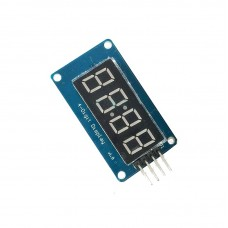 """4 цифров LED дисплей (TM1637) червен 0.36"""""""