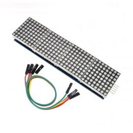 MAX7219 8х8 матричен модул 4 в 1 дисплей