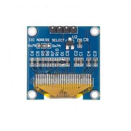 """0.96"""" OLED Бял дисплей 128X64 с I2C комуникация"""