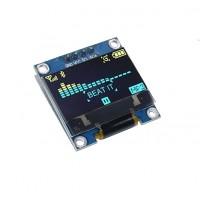 """0.96"""" OLED Жълто/Син дисплей 128X64 с I2C комуникация"""