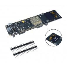 ESP32 с 0.96 OLED дисплей и 18650 гнездо за батерия