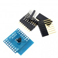 Шийлд с температурен сензор DS18B20 за WeMos D1