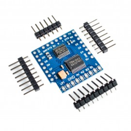 Разширителна платка (шийлд) WeMos D1 управление на два мотора I2C TB6612FNG (1A) V1.0.0