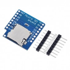 D1 мини разширителна платка със слот за micro SD карти
