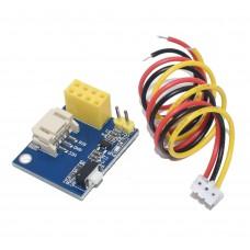 ESP8266-01 адапторна платка за контрол на RGB WS2812
