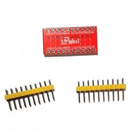 8 канален двупосочен конвертор на логически нива 5v - 3.3v
