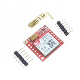 SIM800L GPRS GSM модул с MicroSIM карта, Quad-band, TTL, сериен порт