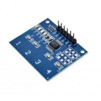 TTP224 4-канален капацитивен тъч сензор