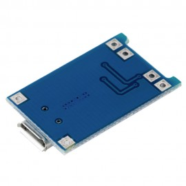 5V Micro USB 1A модул за зареждане на литиеви батерии