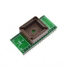PLCC32 към DIP32 адапторна платка