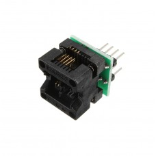 SOIC8 SOP8 към DIP8 EZ адаптор (150mil)