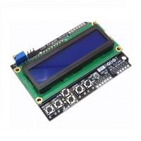 Разширителна платка за Ардуино с LCD син дисплей и бутони